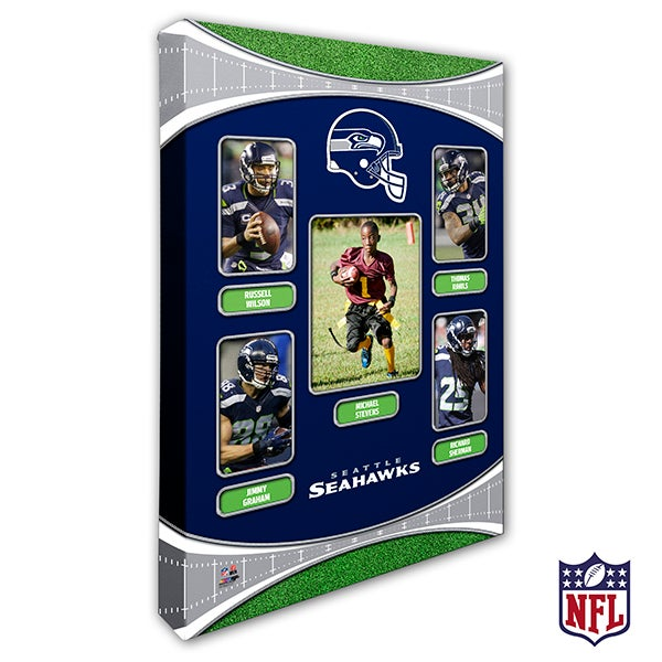 Personalized NFL Wall Art - Seattle Seahawks Art - 19954