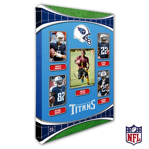 Personalized NFL Wall Art - Tennessee Titans Art - 19956