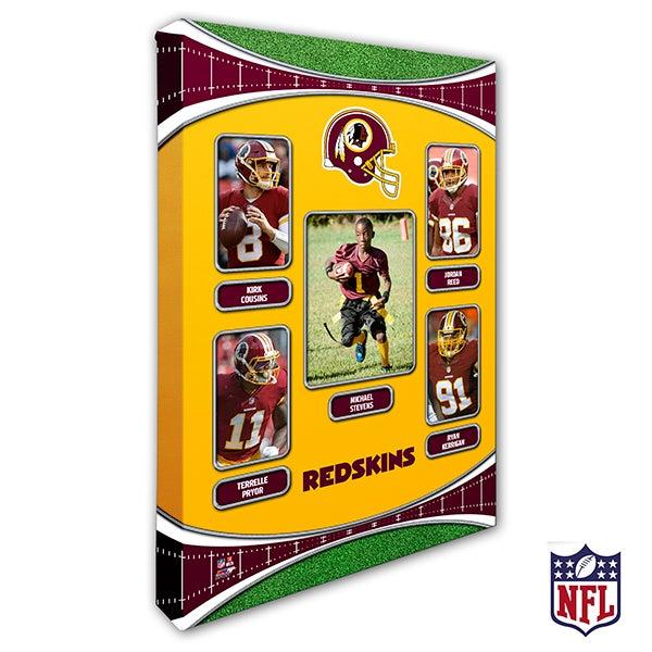 Personalized NFL Wall Art - Washington Redskins Art - 19957