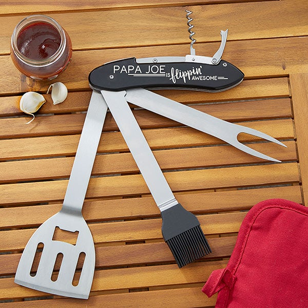 Flippin' Awesome Personalized BBQ Multi-Tool - 19988