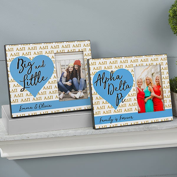 Alpha Delta Pi Personalized Picture Frame