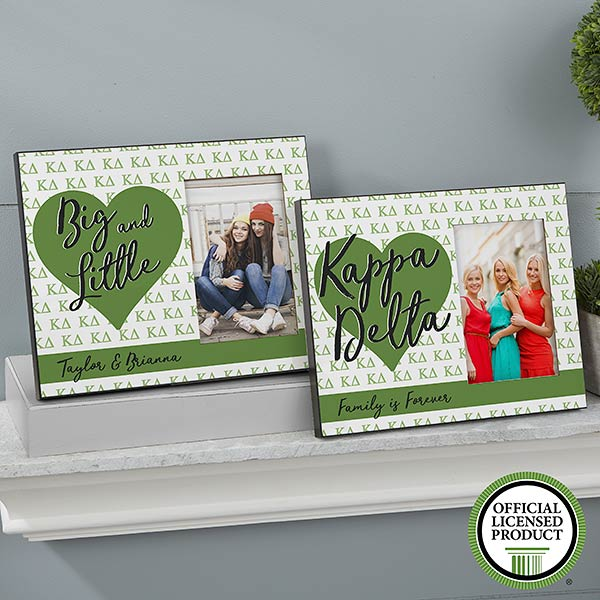 Personalized Sorority Picture Frames - Kappa Delta - 20066