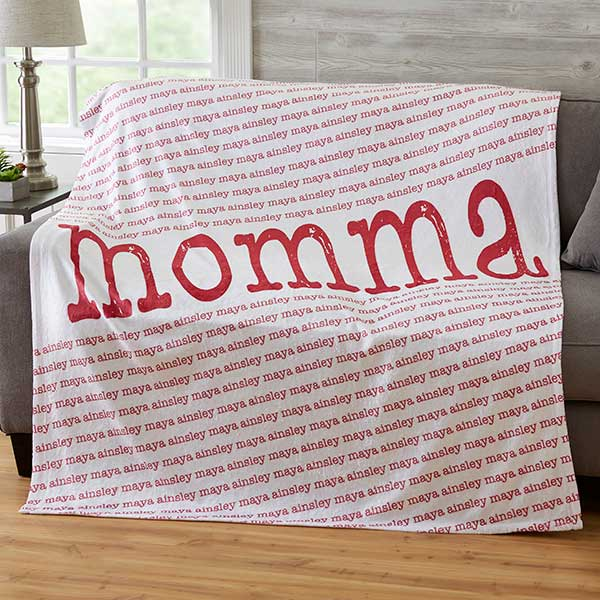 Personalized Blankets For Mom - 20101