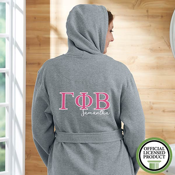 Gamma Phi Beta Personalized Sweatshirt Robe - 20109