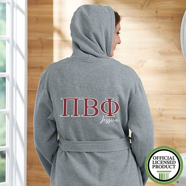 Pi Beta Phi Personalized Sweatshirt Robe - 20113