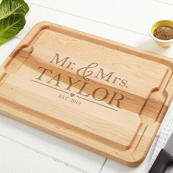 Personalized Cutting Boards Wedding 20177