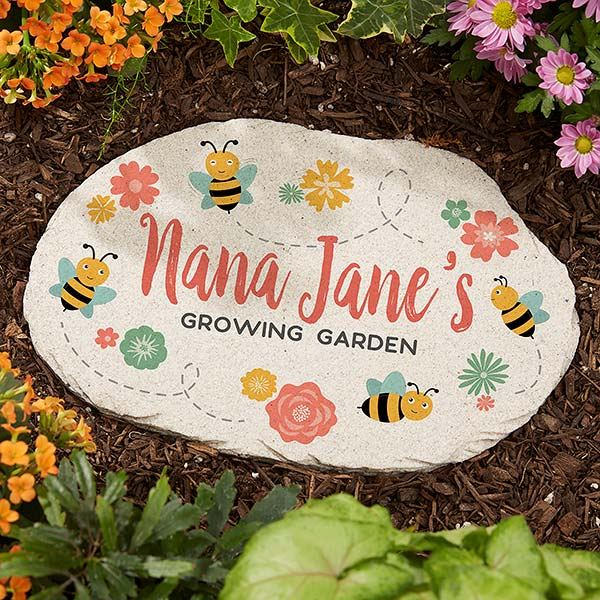 Grandma S Growing Garden Large Personalized Garden Stone