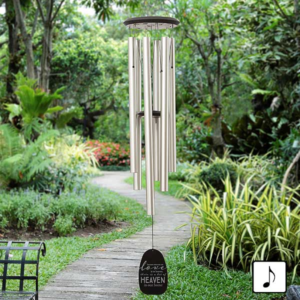 Personalized Memorial Wind Chimes - Heaven In Our Home - 20176