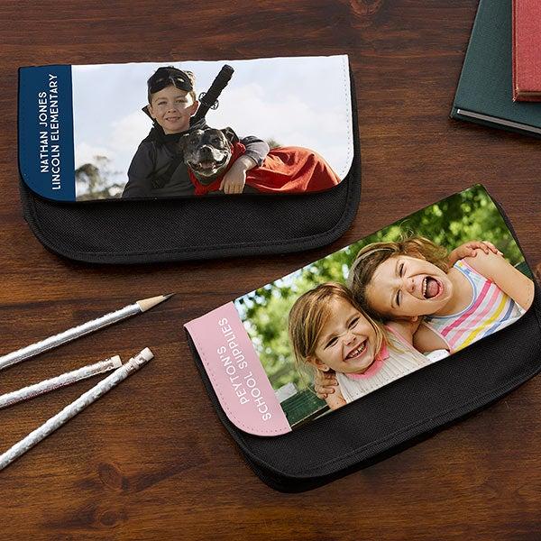 Personalized Photo Pencil Case - 20196
