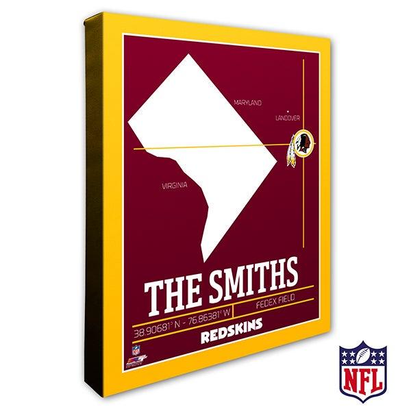 Washington Redskins Personalized NFL Wall Art - 20236