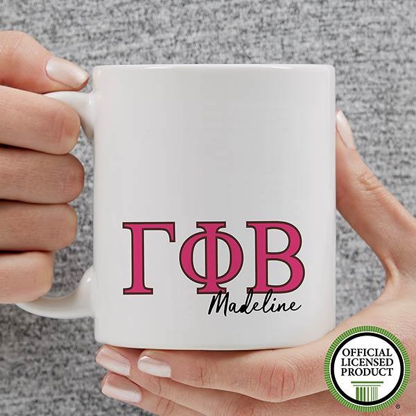 Personalized Gamma Phi Beta Coffee Mugs - 20280