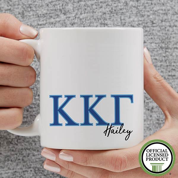 Personalized Kappa Kappa Gamma Coffee Mugs - 20283