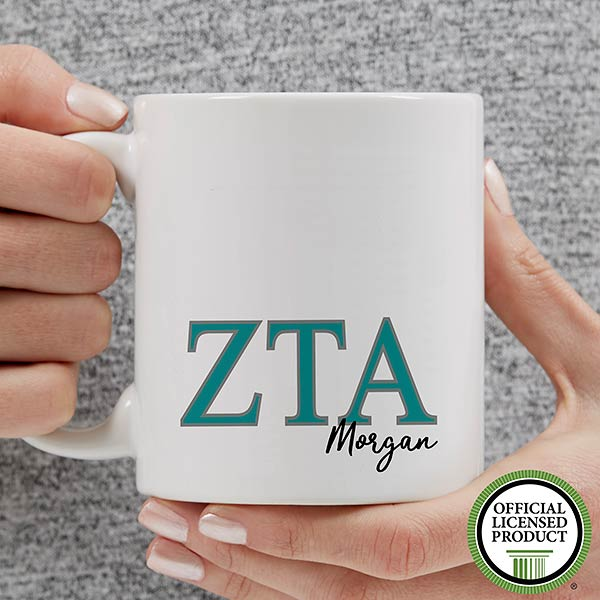 Personalized Zeta Tau Alpha Coffee Mugs - 20285