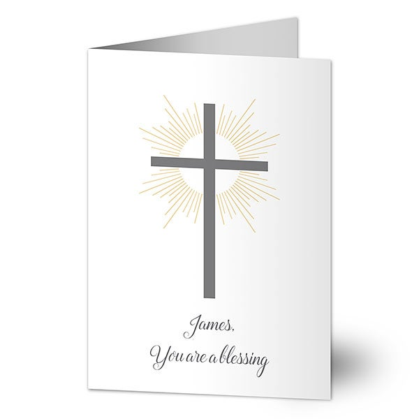 You're A Blessing Personalized Religious Card - 20457