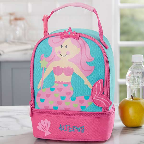 Embroidered Mermaid Lunch Bag For Kids - 20464 639ad624bc60e