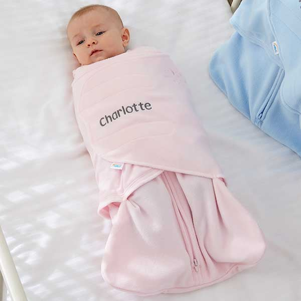 HALO SleepSack Personalized Fleece Swaddle Blankets - 20477
