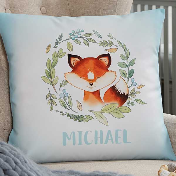 Woodland Character Personalized Baby Pillows - 20568