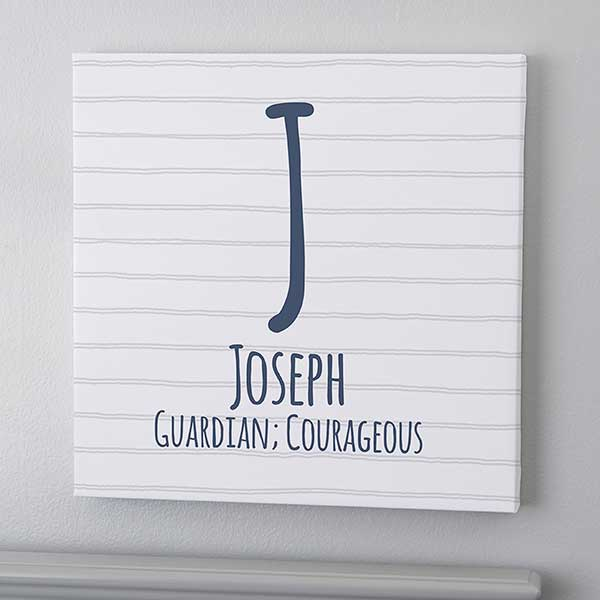 Personalized Name Canvas Prints For Boys - 20589