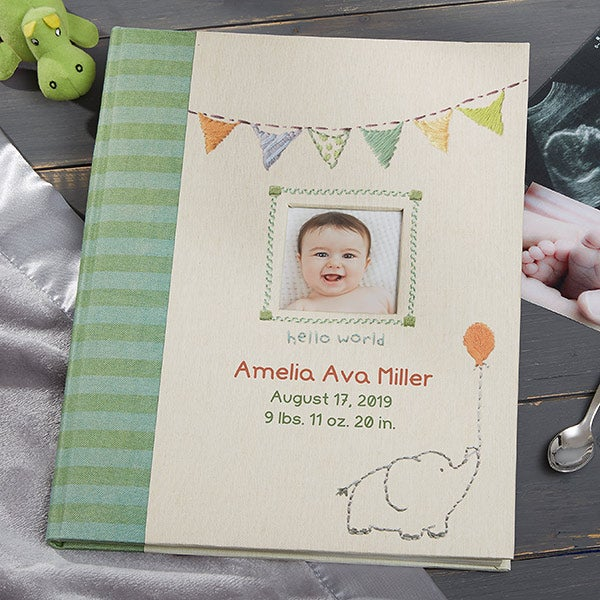 Personalized Baby Memory Book - Made With Love - 20630