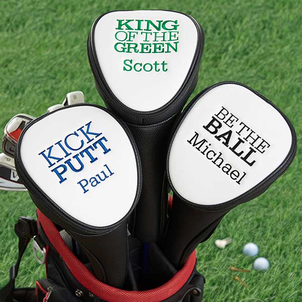 Kiss My Putt Funny Personalized Golf Club Covers - 20638