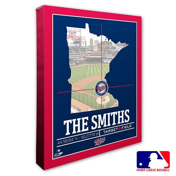 Minnesota Twins Personalized MLB Wall Art - 20710