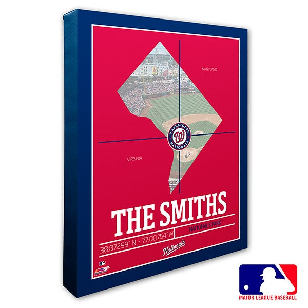 Washington Nationals Personalized MLB Wall Art - 20723