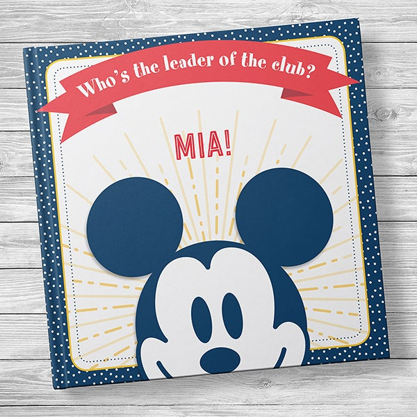 Disney's Mickey Mouse: Who's the Leader of the Club? Kids' Book - 20732D