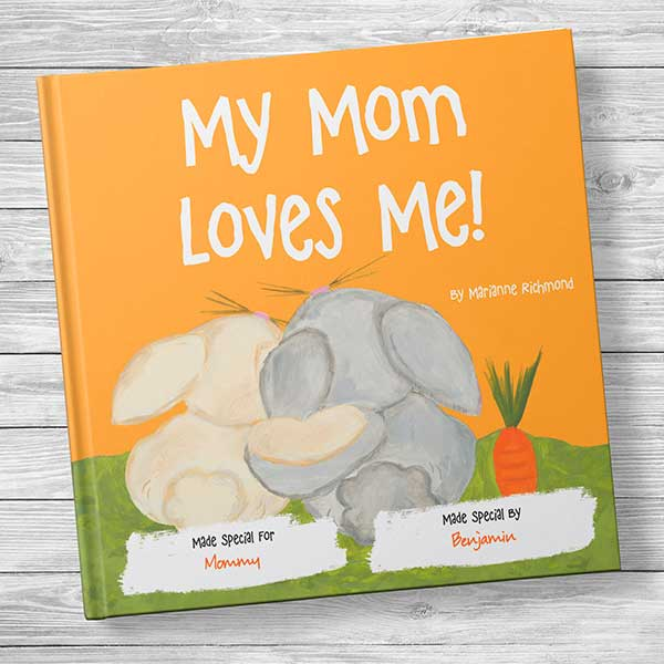 My Mom Loves Me! Personalized Kids' Book - 20735D