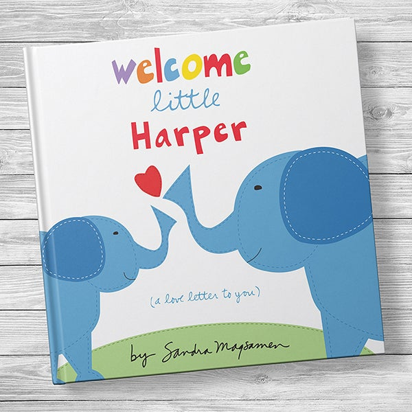 Welcome Little One Personalized Kids' Book - 20739D