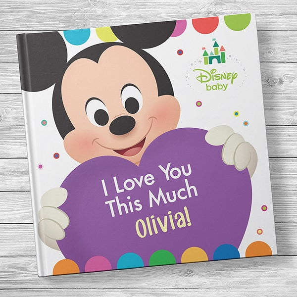 Disney Baby's I Love You This Much! Personalized Baby Book - 20742D