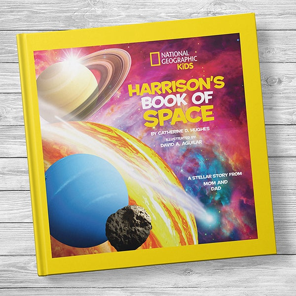 National Geographic: Personalized Kids Book of Space - 20747D