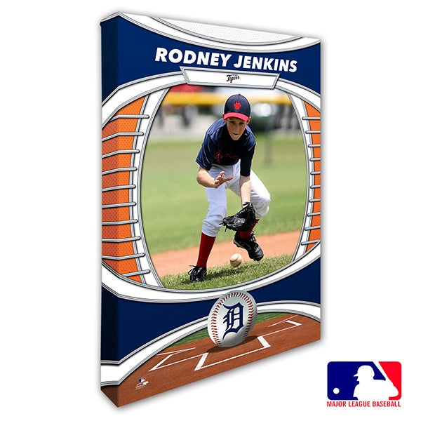 Detroit Tigers Personalized MLB Photo Canvas Print - 20823