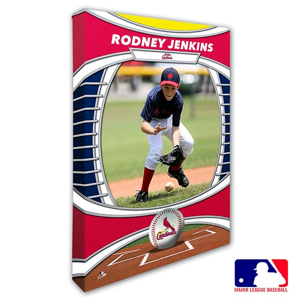 St. Louis Cardinals Personalized MLB Photo Canvas Print - 20839