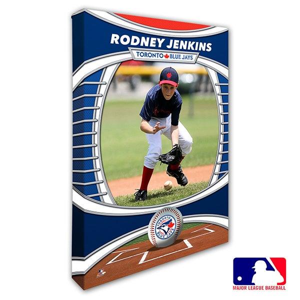 Toronto Blue Jays Personalized MLB Photo Canvas Print - 20842