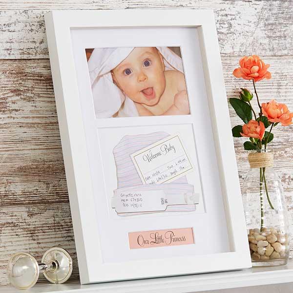 Baby Memento Shadow Box Keepsake Picture Frame - 20865