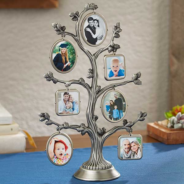Family Tree Picture Frame 3D Photo Stand - 20866