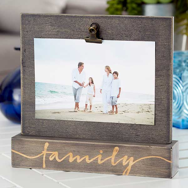 Family Memories Photo Clip Picture Frame - 20868