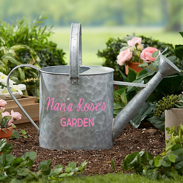 Personalized Galvanized Garden Watering Can - 20887
