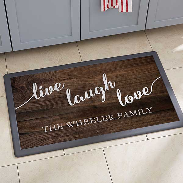 Live Laugh Love 20x35 Personalized