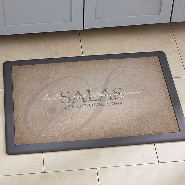 Personalized Kitchen Mats - The Heart Of Our Home - 20896