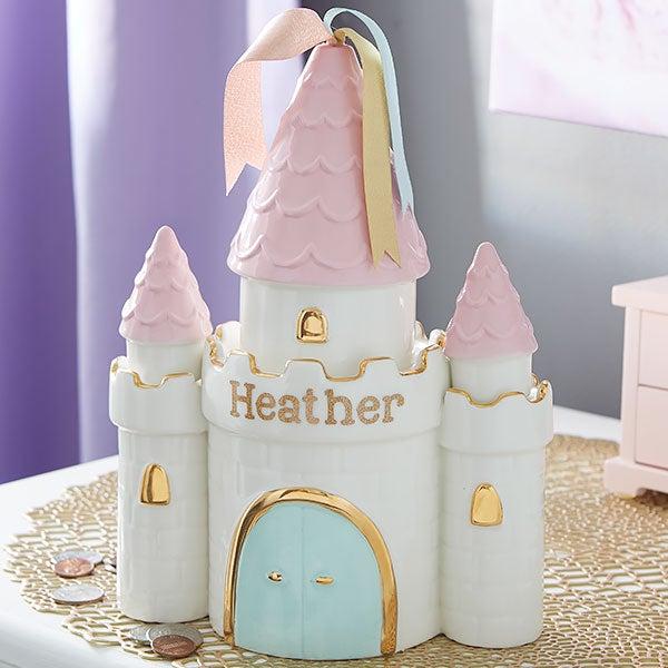 Personalized Princess Castle Piggy Bank - 20943