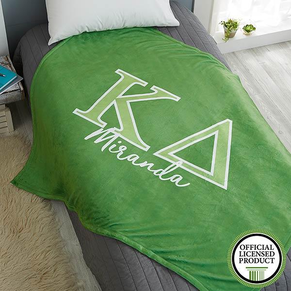 Kappa Delta Personalized Greek Letter Blankets - 21032