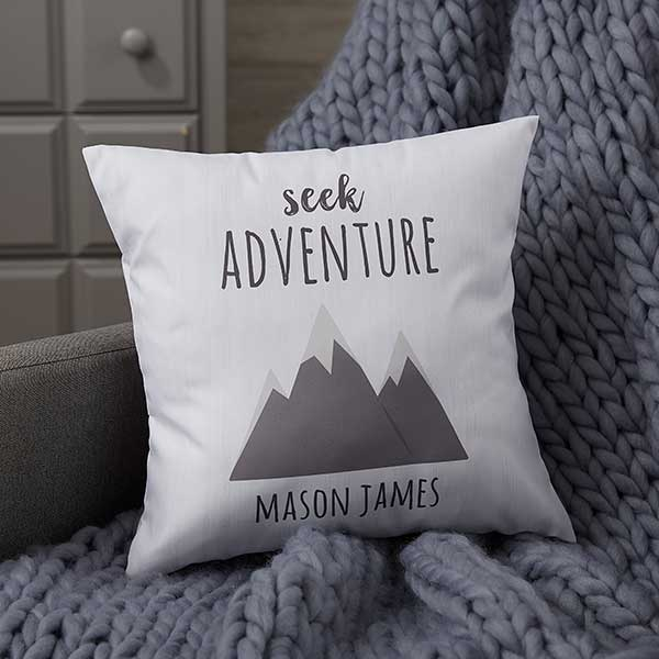 Woodland Adventure Personalized Baby Pillows - 21043