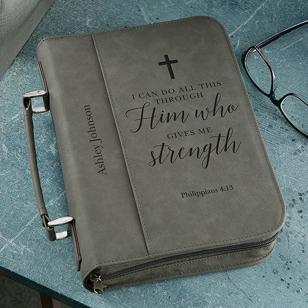 Personalized Bible Covers Heavenly Quotes