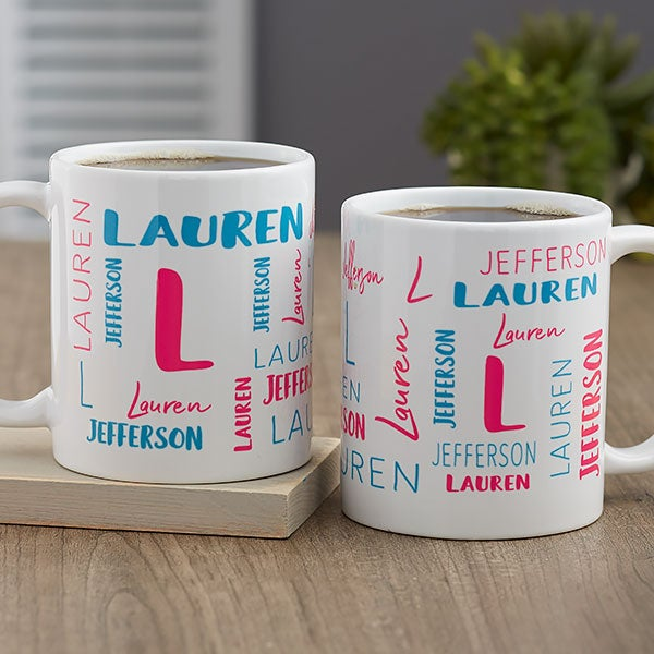 Notable Name Personalized Coffee Mugs - 21063