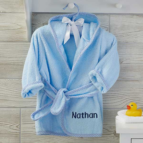 Personalized Baby Robes - Name & Monogram - 21069