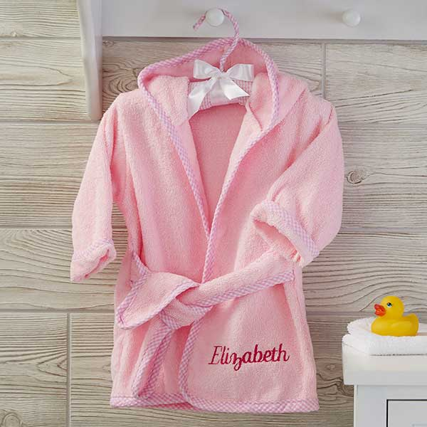 55cf91829c Personalized Baby Robes - Name   Monogram - 21069