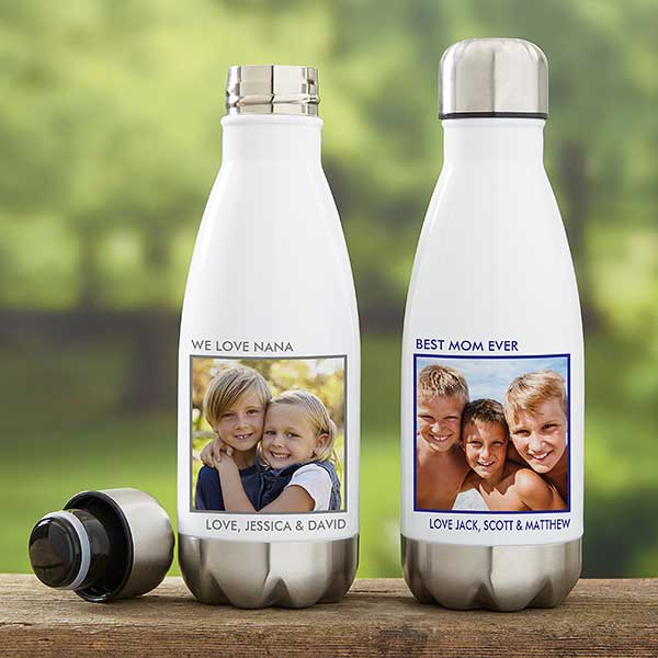 23f2edf37a Personalized Insulated Photo Water Bottles - 21075