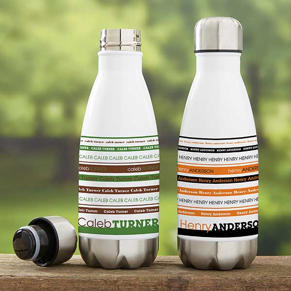 Personalized Insulated Water Bottles For Boys - 21079
