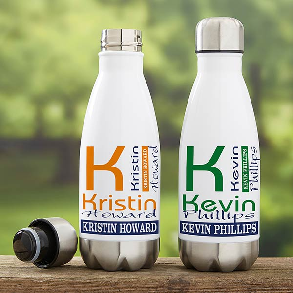 Personalized Insulated Water Bottles - Personally Yours - 21107